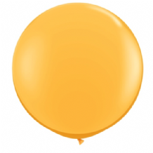 3ft Giant Balloons - Goldenrod Latex Balloon 1pc